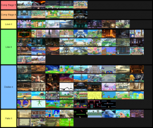 SSBU Stages (Comp and Reg)